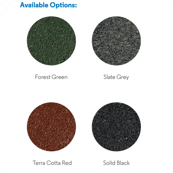 color choices in rubber pavers