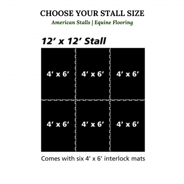 size selection for rubber mats