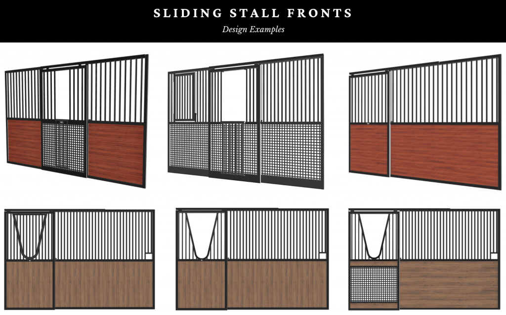 stall fronts for horses
