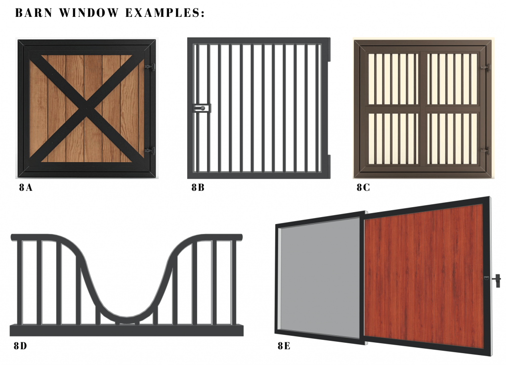 barn windows for horse barns